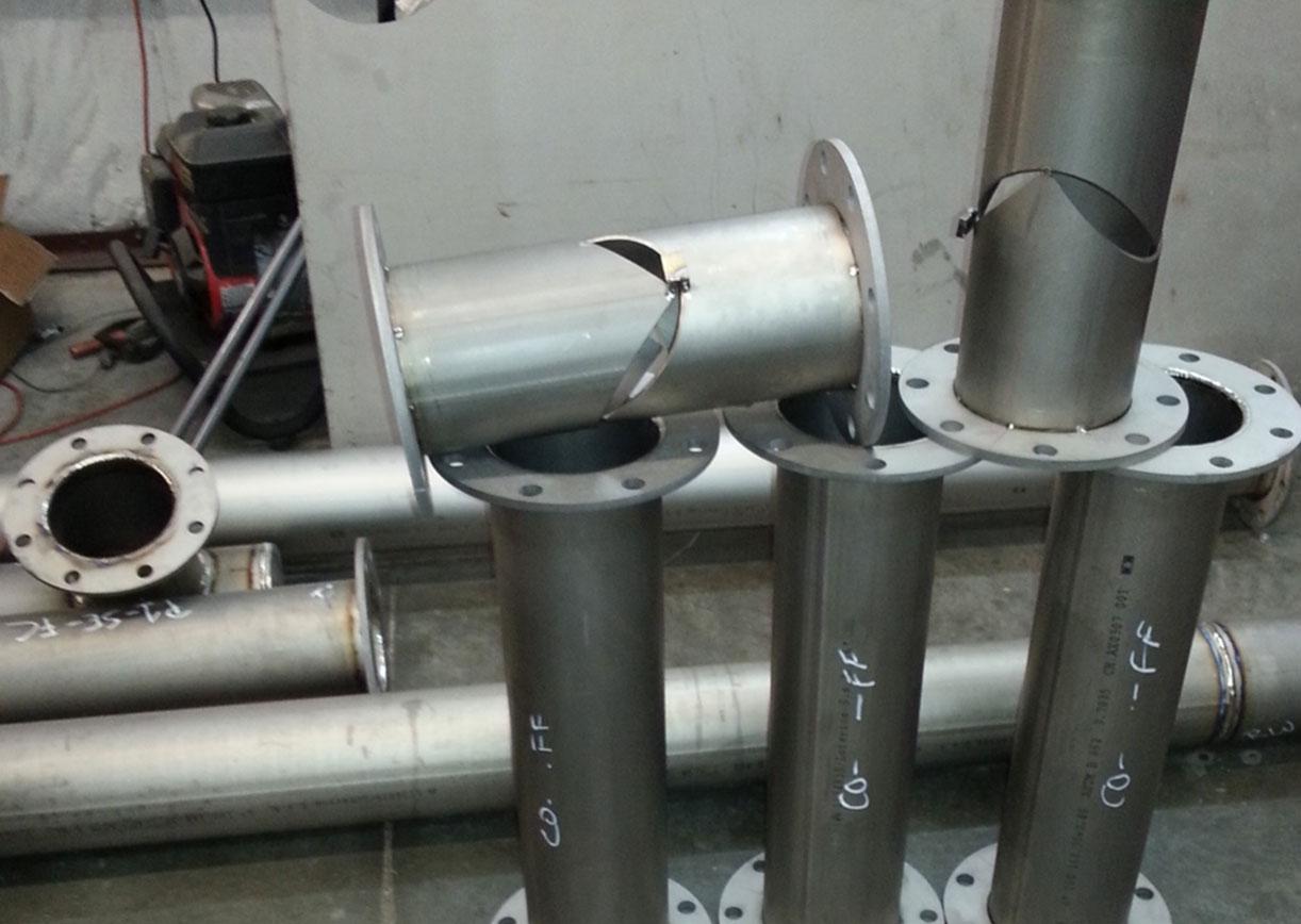 Titanium Services | Titanium Flow - Titanium Pipe Products